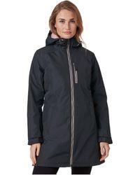 Helly Hansen Long Belfast Winter Jacket - Black