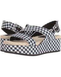 Rag & Bone - Megan (navy Gingham) Women's Shoes - Lyst