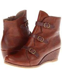 Eric Michael - Lena (grey) Women's Zip Boots - Lyst