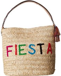 Frances Valentine - Fiesta/siesta Cornhusk Bag (natural/multi) Handbags - Lyst