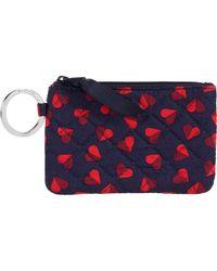 Vera Bradley Zip Id Case Wallet - Red