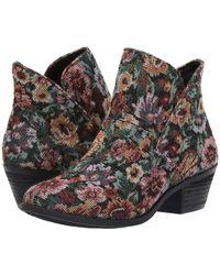 fe9a445599e9 Me Too - Zena (wine Multi Tapestry) Women s Boots - Lyst