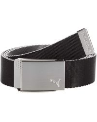 PUMA Reversible Web Belt - Black