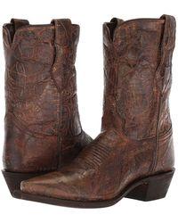 Dingo - Loretta (brown) Cowboy Boots - Lyst