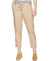 Lauren by Ralph Lauren - Petite Straight Linen Pants (birch Tan) Women's Casual Pants - Lyst