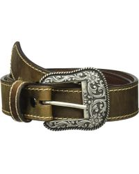 Ariat Classic With Heavy Stitch Belt - Brown