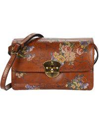 Patricia Nash Cetara Crossbody Handbags - Brown
