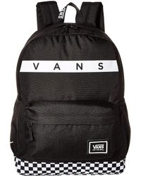 Vans - Sporty Realm Plus Backpack (black/face Off) Backpack Bags - Lyst
