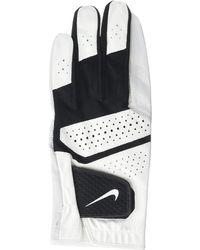 Nike Tech Extreme Vi Regular Left Hand Golf Gloves - White