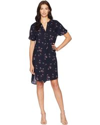 Pendleton - Serephina Dress (midnight Navy Thistle Print) Women's Dress - Lyst