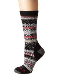 Smartwool Premium Chup Hansker Men's Crew Hiking Socks - Black