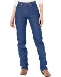 Wrangler Cowboy Cut Slim Fit Natural Waist Jean - Blue