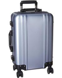 ZERO HALLIBURTON Classic Aluminum 2.0 - Carry-on Spinner - Blue