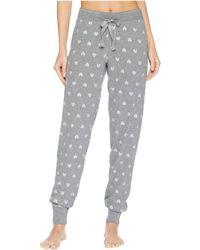 Pj Salvage - Wild Heart Joggers (heather Grey) Women's Pajama - Lyst