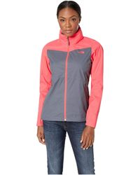 The North Face - Resolve Plus Jacket (violet Pink/sodalite Blue) Women's Coat - Lyst