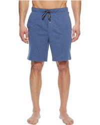 Nautica - Knit Sleep Shorts (grey Heather) Men's Pajama - Lyst