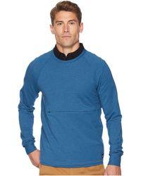 Hurley - Dri-fit Offshore Crew (blue Force) Men's Fleece - Lyst