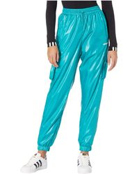 adidas Originals Shiny Windwear Pants Casual Pants - Blue