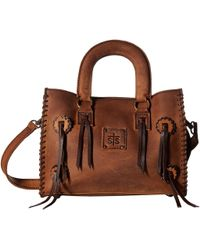 STS Ranchwear - Small Chaps Satchel (brown) Satchel Handbags - Lyst