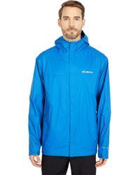 Columbia Watertight Ii Jacket Coat - Blue