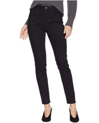 Miss Me - Basic High-waisted Skinny Jeans In Black (black) Women's Jeans - Lyst