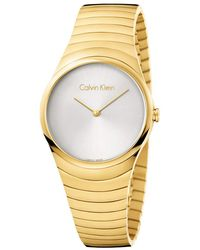 Calvin Klein - Whirl Watch - K8a23546 (silver/rose Gold) Watches - Lyst