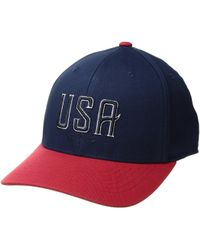 afb18ef92a3 PUMA - The 42nd 110 Snapback Cap (peacoat) Baseball Caps - Lyst