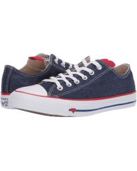 7c5ef850280e Lyst - Converse Women s Chuck Taylor All Star Denim Love Sneakers in ...