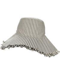 Hat Attack Canvas Packable Hat Caps - Black