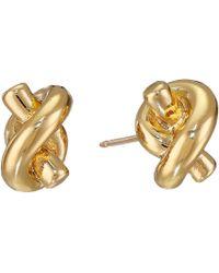 Kate Spade | Sailor's Knot Stud Earrings | Lyst