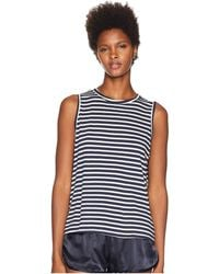 Maison Du Soir - Jasper Tank Top (pearl Stripe) Women's Sleeveless - Lyst