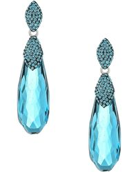 Swarovski - Height Pierced Earrings - Lyst