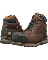 Timberland 6 Inch Boondock Comp Toe Wp Insulated Industrial Work Boot - Brown