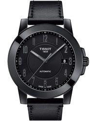 Tissot - Gentleman Swissmatic - T0984073605200 (silver/black) Watches - Lyst
