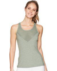 Lorna Jane - Sweat It Out Excel Tank Top (light Khaki Marl) Women's Sleeveless - Lyst