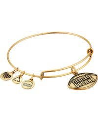 ALEX AND ANI - Nfl Cleveland Browns Football Bangle - Lyst