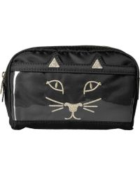 Charlotte Olympia - Purrrfect Makeup Bag - Lyst