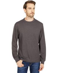 Filson Waffle Knit Thermal Crew Neck - Gray