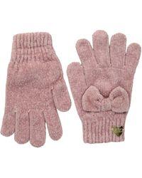 Betsey Johnson Bownanza Glove - Pink
