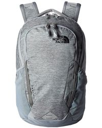 The North Face - Vault Backpack (mid Grey Dark Heather/tnf Black) Backpack Bags - Lyst