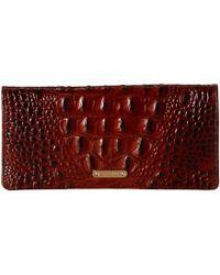 Brahmin Ady Wallet Shortbread Melbourne - Brown