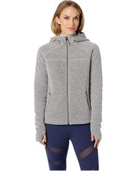 Smartwool - Hudson Trail Full Zip Fleece Sweater (tibetan Red) Women's Sweater - Lyst