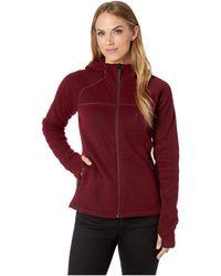 Smartwool - Hudson Trail Full Zip Fleece Sweater (light Gray) Women's Sweater - Lyst