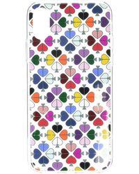 Kate Spade Foil Spade Phone Case For Iphone Xr - Multicolor