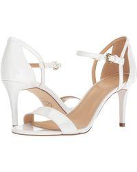 MICHAEL Michael Kors - Simone Mid Sandal (silver/sand Glitter) Women's Sandals - Lyst