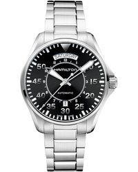 Hamilton - Khaki Pilot Day Date - H64615135 - Lyst