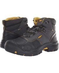 938bc69d992 Keen Utility Logandale Soft Toe Waterproof (raven/black) Men's Work ...
