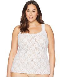 Hanky Panky - Plus Size Signature Lace Unlined Cami - Lyst