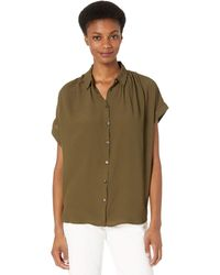 Madewell Central Drapey Shirt - Green