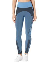 adidas By Stella McCartney Tpr Sl Tights Gl7584 Casual Pants - Blue